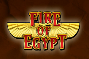 slot machine fire of egypt logo