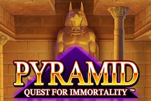 slot machine pyramid quest for immortality logo