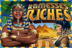 slot machine ramesses riches logo