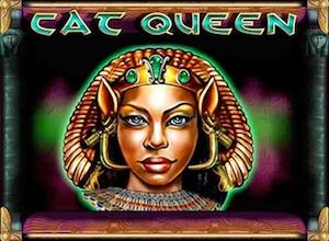 slot machine cat queen logo