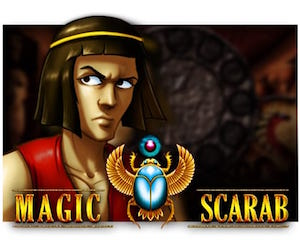 slot machine magic scarab logo