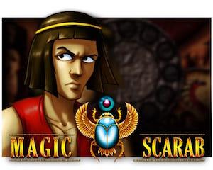 slot machine magic scarab logo