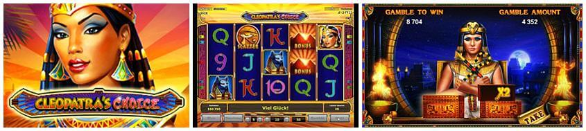 slot aams novomatic cleopatra choice
