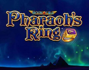 il logo della slot anello del faraone